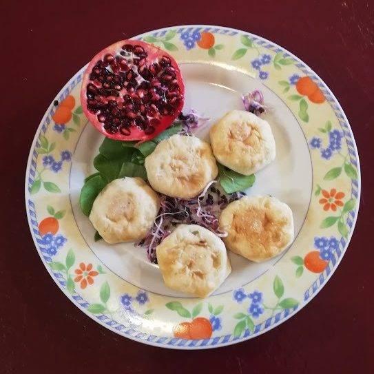 Picnic Pocket - assiette avec grenade et fruits